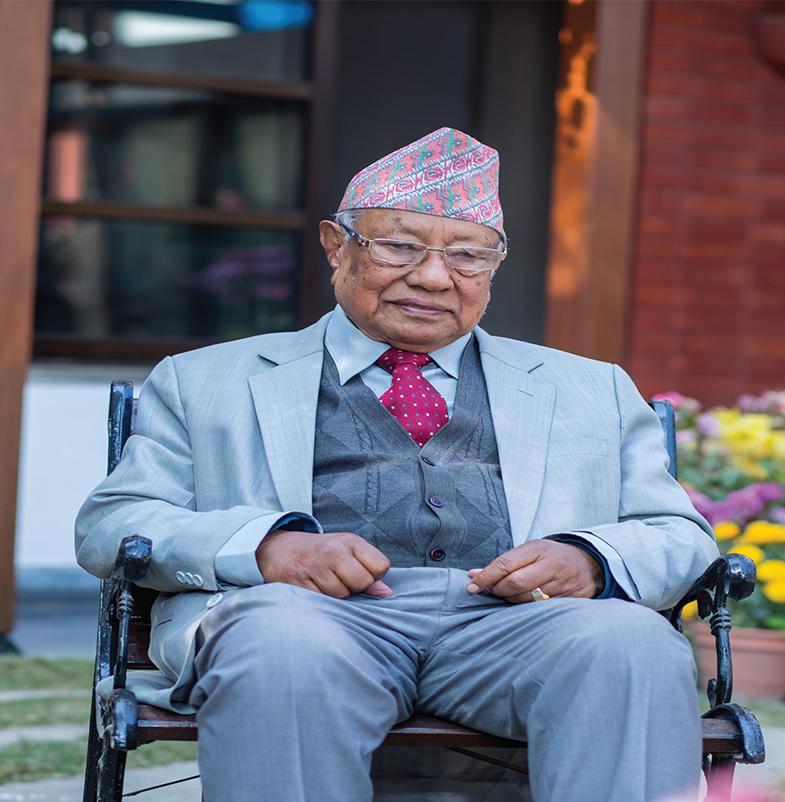 Ram Lal Shrestha,Founder & Chairman Emeritus