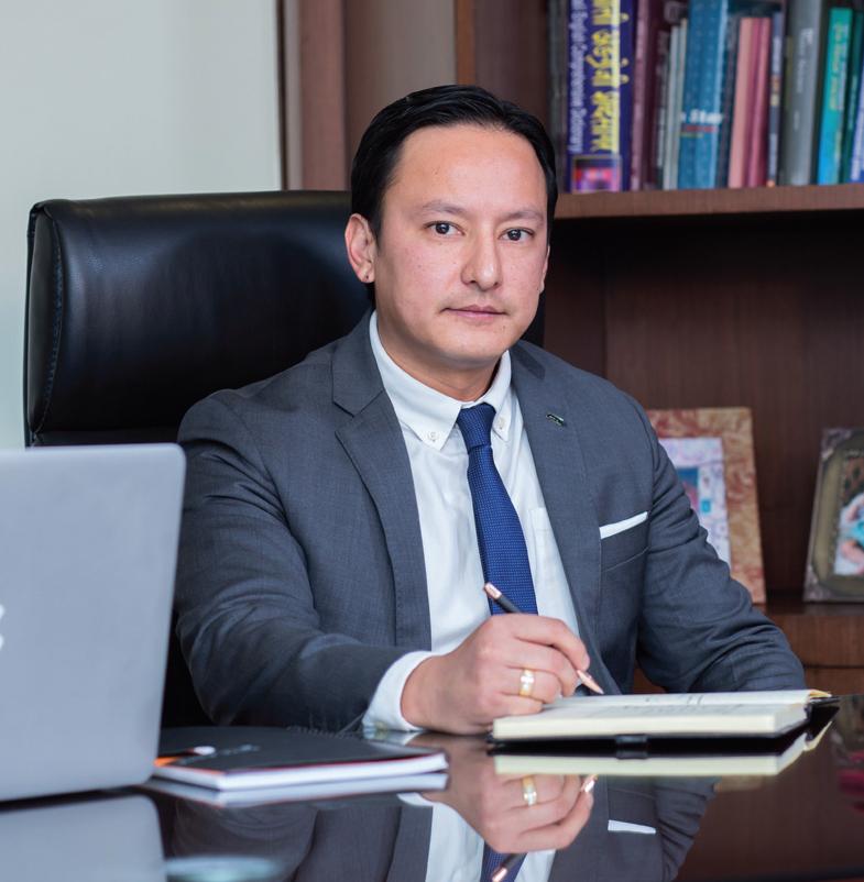 Diji Shrestha, Executive Director