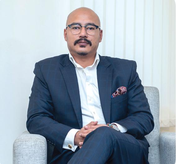 Jayadin Shrestha, Executive Director